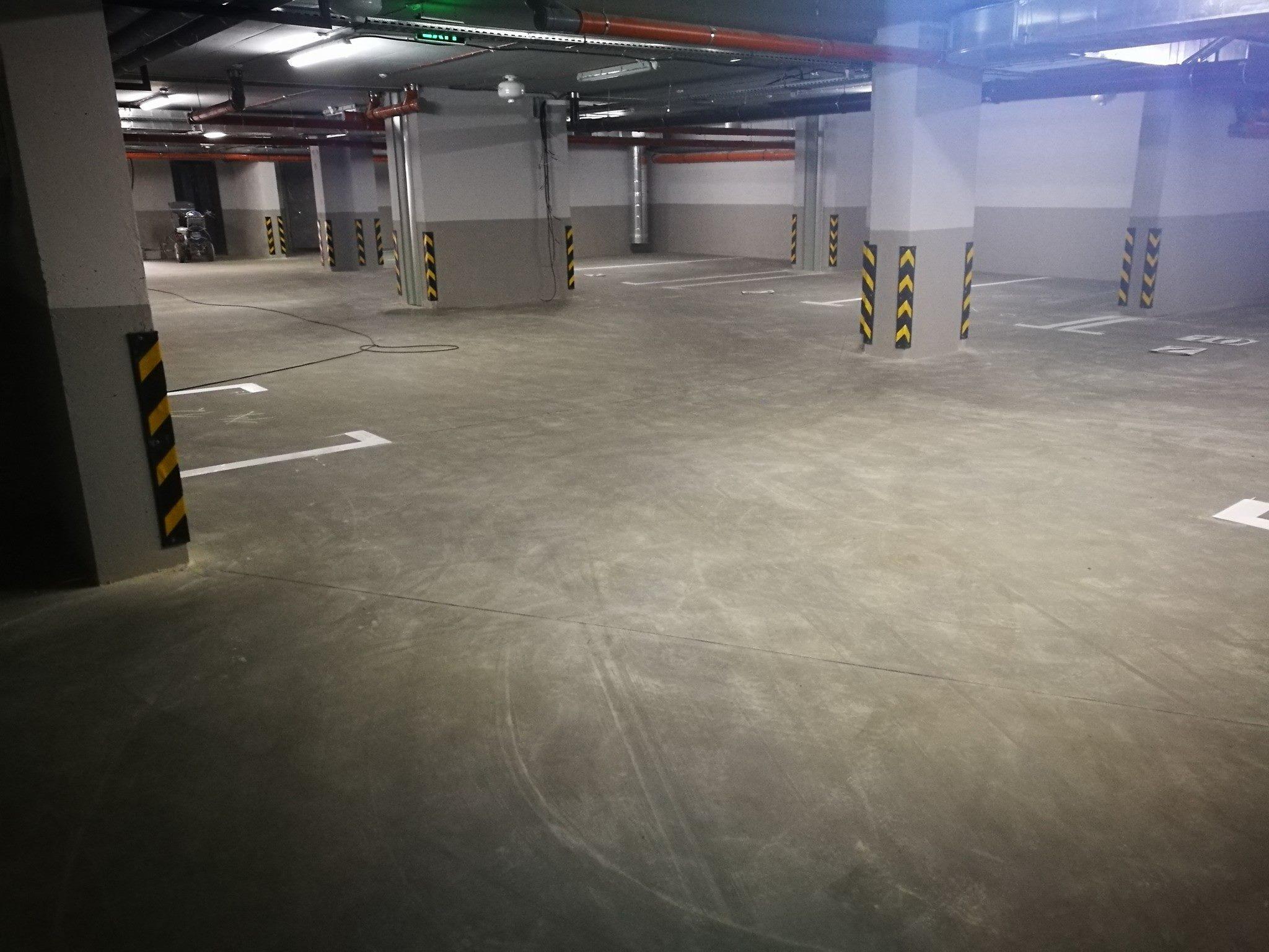 Подземная парковка по ул. Г. Асаки