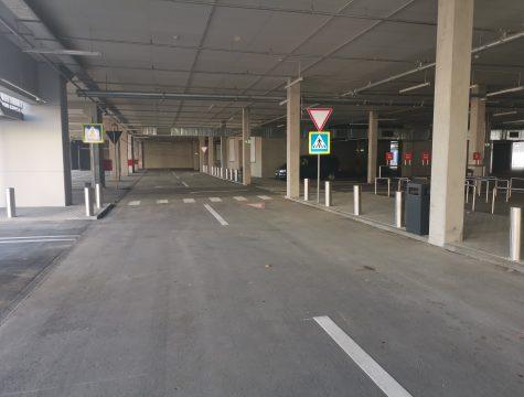 парковки торгового центра Kaufland